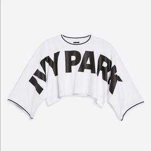 Ivy Park Oversize Logo Crop Tee